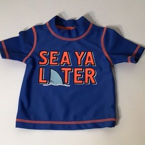 Carters 3 month Sea Ya Later beach water pool top